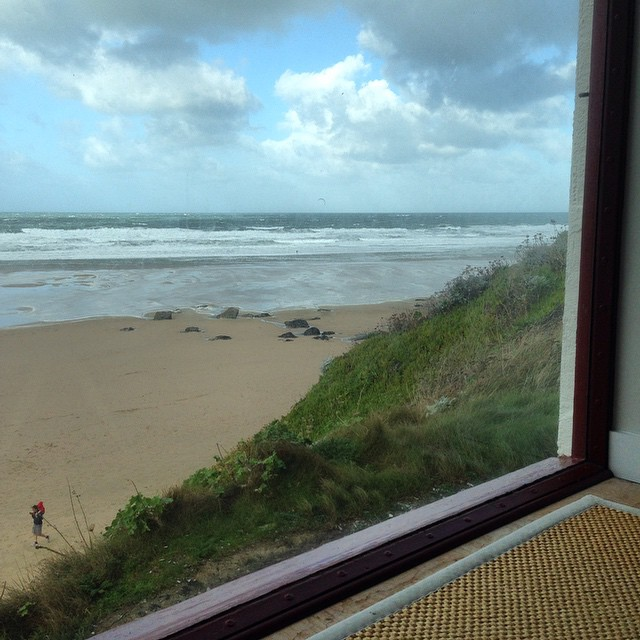 Watergate Bay Hotel Latte View