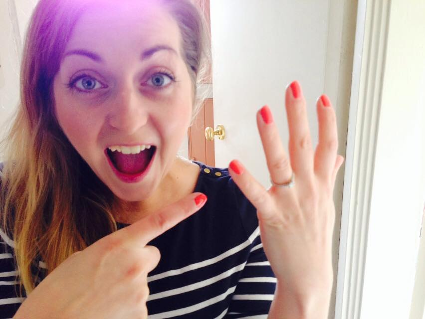 CORRIE ENGAGED