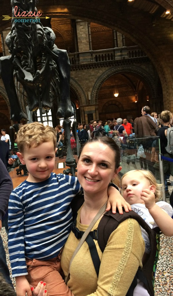 Me & Kids at the Natural History Museum