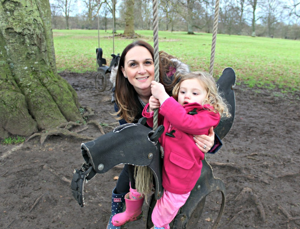 Mummy and Bea on the swing FINAL