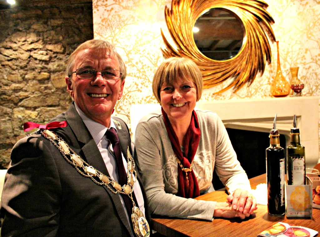 mayor and mayoress