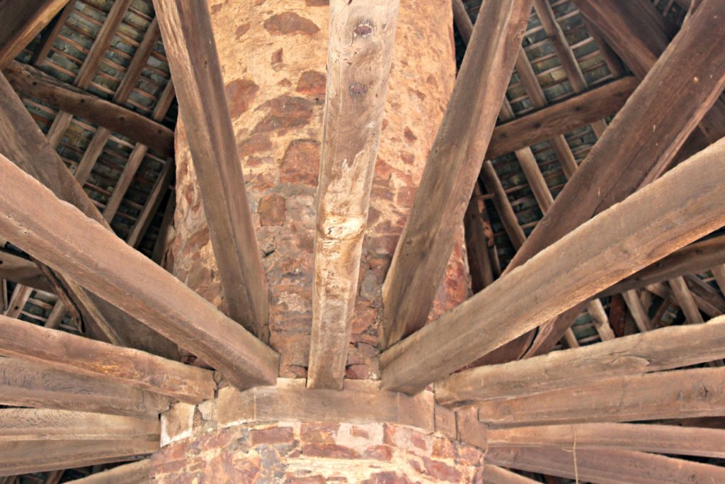 dunster yarn market ceiling