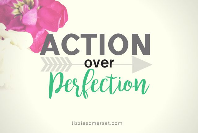 Action over Perfection #3 - stop striving