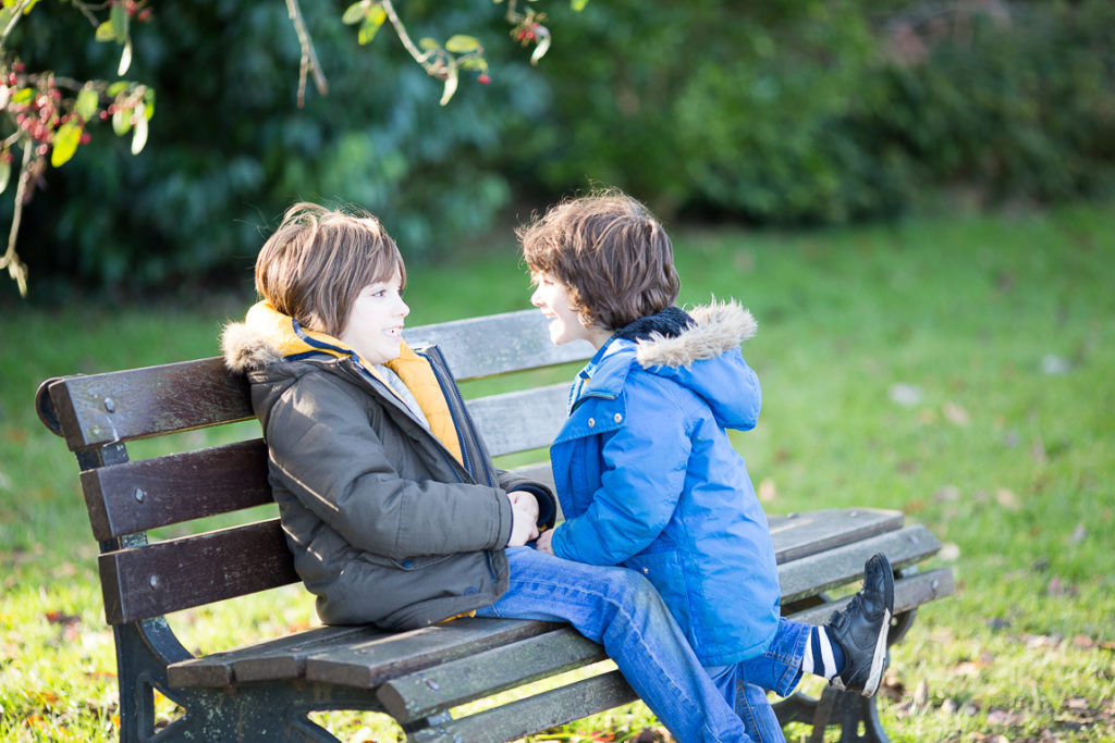 Honest-Mum-Kids-On-Bench-In-Bath-Somerset
