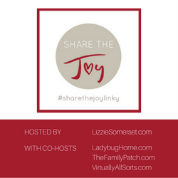 Share The Joy Linky @ Lizzie Somerset