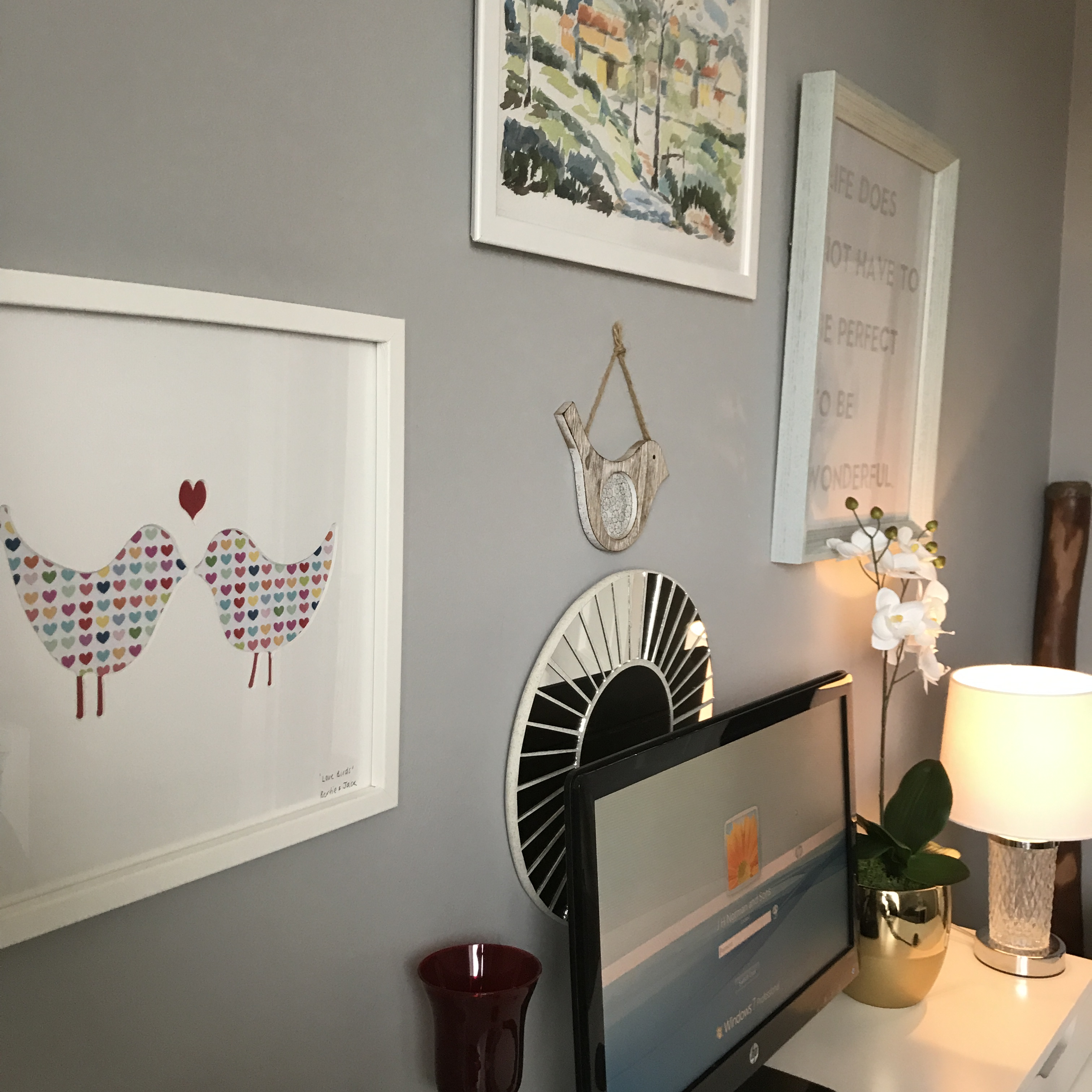 When It Came To Designing My Office Nook, Of Course I Turned To Pinterest  For Inspiration. As You Can See I Have A Recurring Theme In All Of My Pins  On My ...