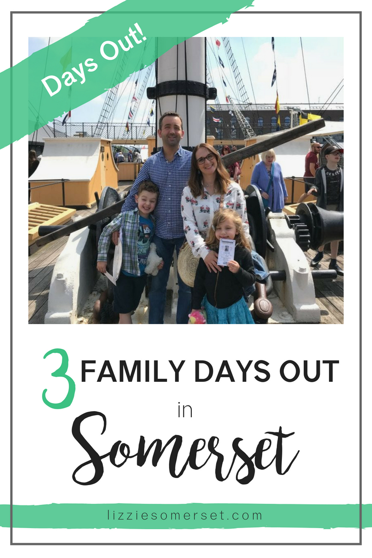 3 fun family days out in Somerset, UK. Featuring Noah's Ark Zoo Farm, The SS Great Britain and Dunster Castle