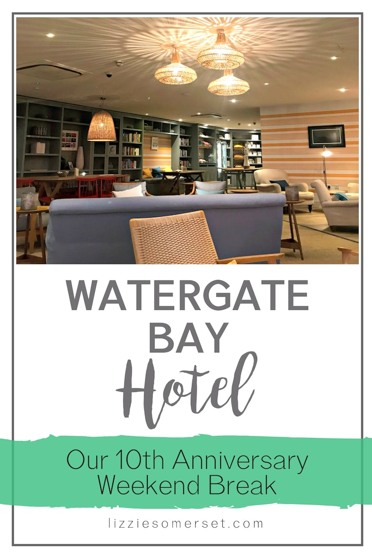 Watergate Bay Hotel in Cornwall - perfect destination to celebrate a special occasion #UKdesinations #cornwall #UKseaside #UKHotels