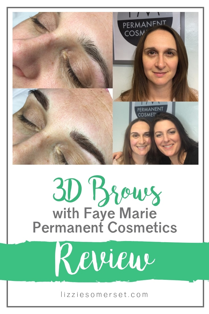 I tried a 3D Brows treatment to sort out my thinning eyebrows - Faye Marie Permanent Cosmetics were amazing - see how I got on! #beauty #brows #treatment