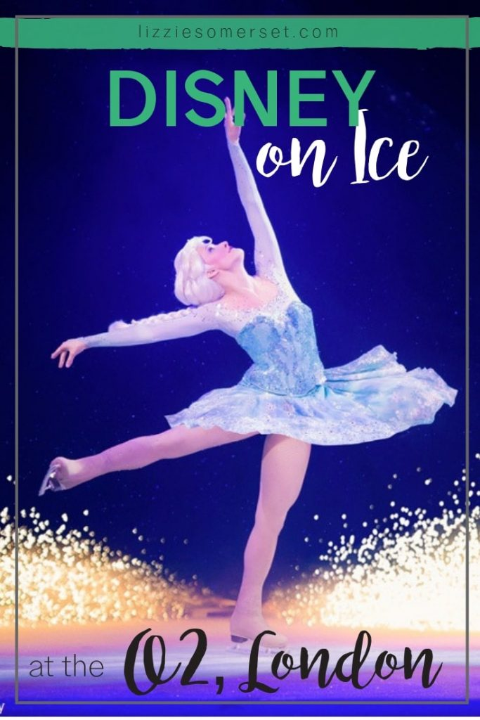 We went to London's O2 arena to see the spectacular Disney on Ice show! #Disney #familydaysout