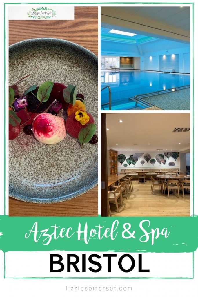 Aztec Hotel & Spa in Bristol, UK. Beautiful hotel and spa in the UK offering relaxation, Caudalie treatments and wonderful food #UKspahotel #UKtravel