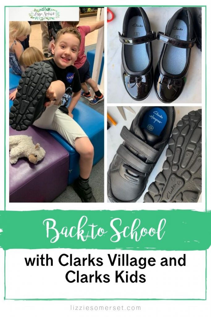 Back-to-school shoes from Clarks - the only place to get durable school shoes! See how we got on at Clarks Village #parenting #school