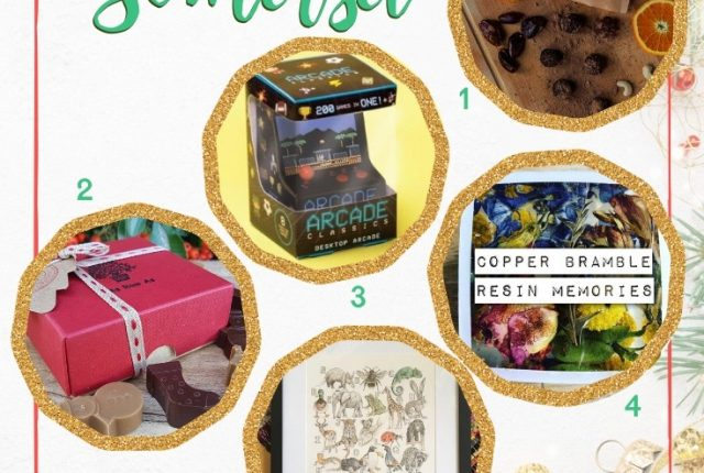 Somerset christmas gift guide 2019