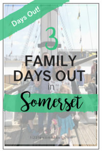 3 fun family days out in Somerset - Noah's Ark Zoo Farm, The SS Great Britain, and Dunster Castle.