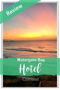 Watergate Bay Hotel Cornwall UK - review of our weekend stay at this UK seaside hotel in Cornwall #UKhotels #UKtravel #hotelreview