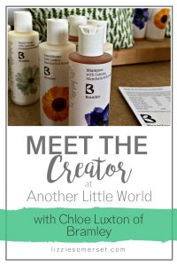 Meet the Creator at Another Little World chats to Chloe Luxton of Bramley Skincare about her inspiration #entrepreneur