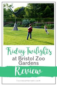 Friday Twilights at Bristol Zoo Gardens - what happens after hours at the zoo? Read our review to find out! #Bristoldaysout #familydaysoutuk #Somerset